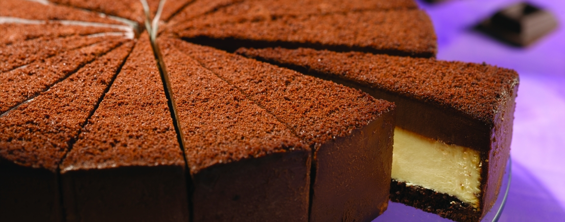 Bindi Chocolate Ganache Cheesecake - Precut