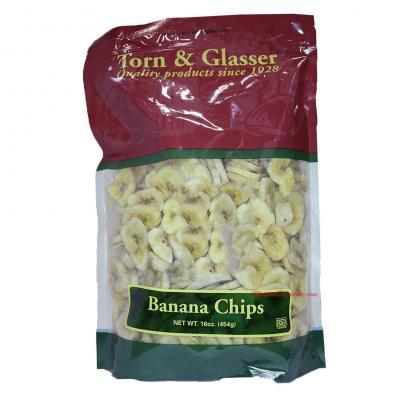 Torn & Glasser Banana Chips - 16oz