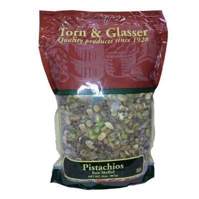Torn & Glasser Pistachios Raw Shelled 32oz