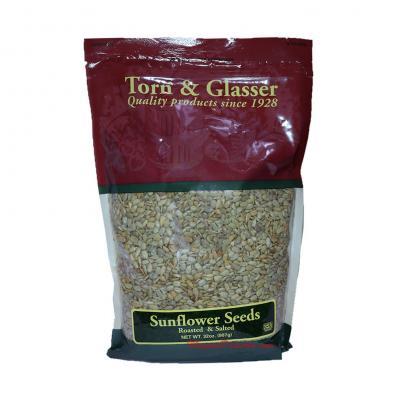 Torn & Glasser Sunflower Seeds Roasted Salted 32oz