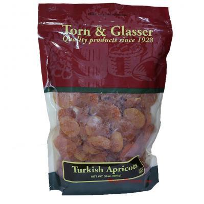 Torn & Glasser Turkish Apricots 32oz